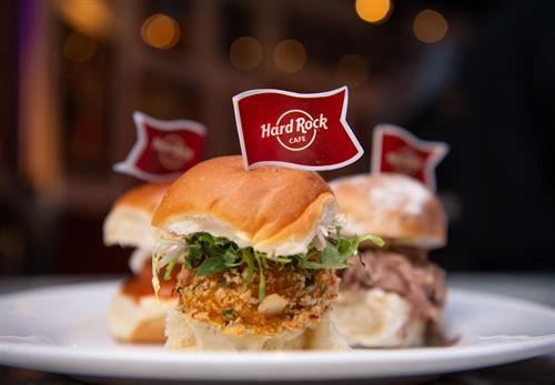 Hard Rock Cafe Sliders