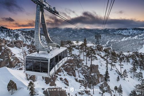 The Aerial Tram at Squaw Valley