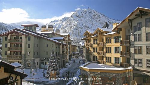 The Village at Squaw Valley Alpine Meadows offers slopeside lodging and conference meeting space