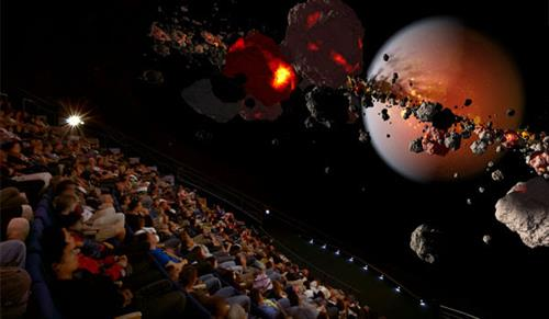 Morrison Planetarium - 75-foot, all-digital dome displays one of the most accurate and immersive Universes