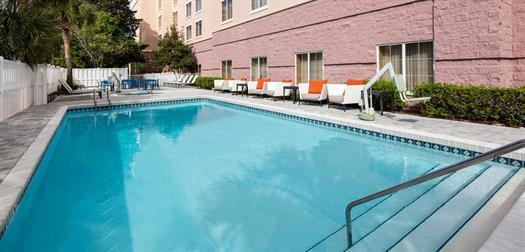 Heated pool, hot tub