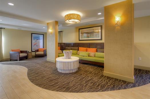Relax in our Perfect Mix Lobby Seating Area