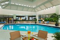 Our indoor pool is heated and easily accessible.