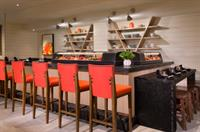 Hadashi Sushi Bar is located inside of Sandcastle's Lounge