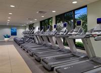 With a 24 hour fitness center, Serenity by the sea Spa offers memberships monthly and annually.