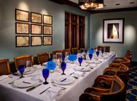 THE BOARDROOM  Seating for up to 8-16 guests (14 with AV presentation) at one long table.