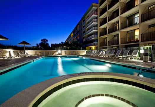 We offer 2 pools, with ample space for the entire family.