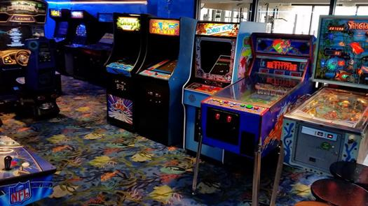 Ready for a nostalgic trip? Come play at our Retro Arcade, featuring games from the 80's and 90's, all at .25 cents!