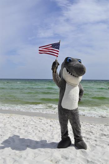 A leader amongst family-friendly hotels in the area, the Wyndham Garden features Johnny Jaws, our friendly shark masoot.