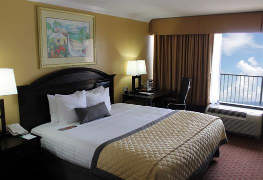 We feature carefully appointed accomodations that provide the Wyndham comfort.