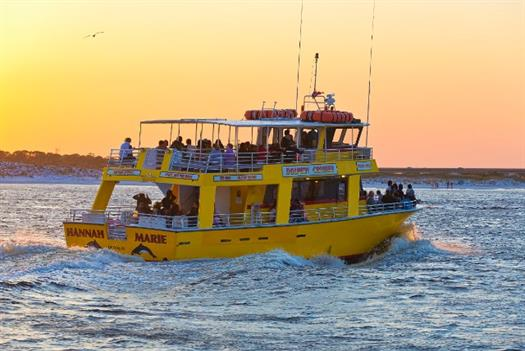Dolphin Watch & History Cruise in Destin Harbor
