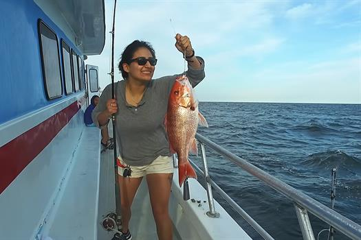 Red Snapper Caught on Destin Party Boat