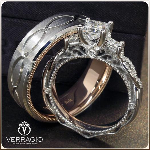 Verragio Venetian Collection and Verragio Men's Band