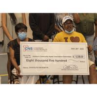 Y-12 donates $8,500 for Scarboro graduates
