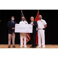 CNS donates $10,000 to Oak Ridge High School NJROTC
