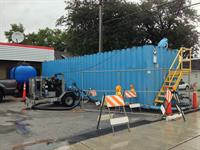 On-site liquid treatment services.