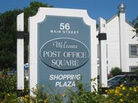 56 Main St, Orleans - by the blue mail boxes!