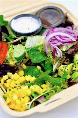 Fresh Salads with our famous dressings