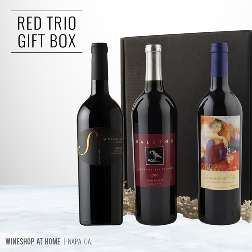 Boxed Gift Sets shipped via FedEx from our Napa winery to your gift recipient!
