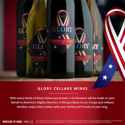 Glory Cellars - A Gift That Gives Back!