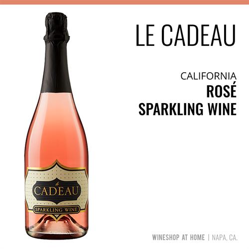 Our Le Cadeau Rose Sparkling Wine