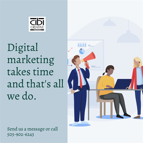 Digital Marketing takes time