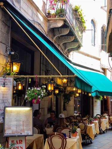 restaurant in Venice, Italy