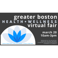 Vendors: Greater Boston Health & Wellness Fair