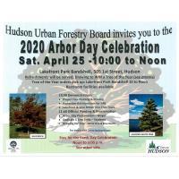 POSTPONED: 2020 Arbor Day Celebration in Hudson