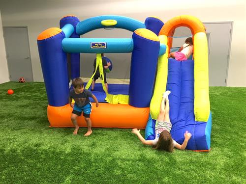 Bounce House for parties at Catalyst!