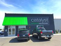 West View of entrance to Catalyst Sports Medicine
