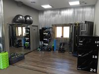 Training & Stretching Area