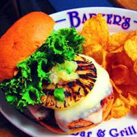 Lunch or dinner - Barker's is the perfect location.
