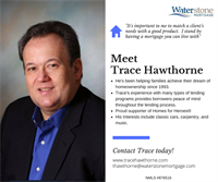 Meet Trace Hawthorne, Mortgage Loan Officer serving the St. Croix Valley and beyond! Stop in to meet Trace, or click to visit his website at http://www.tracehawthorne.com/ to get your mortgage application started today! #GetToKnowYourLO