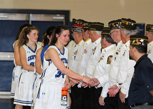 The St. Croix Central Panthers Basketball had veterans and first responders out on February 6th for the 2nd Annual Hoops for Heroes. It was a great event and we're proud to be honored by such tremendous students, staff, and community members.