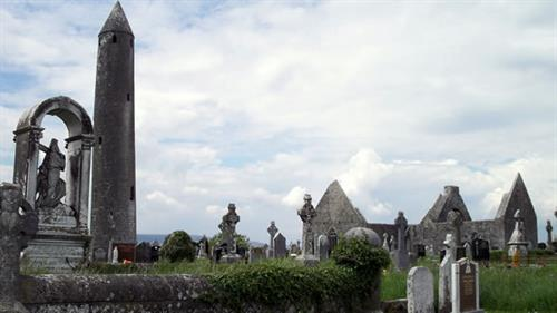 Round Towers such as this one are only found in Ireland - we take you up close!