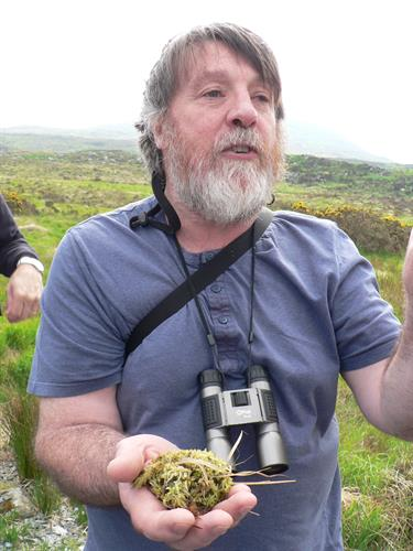 Dave Hogan, our brilliant guide is an ecologist, biologist, musician and storyteller