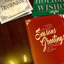 Custom Holiday Greetings!