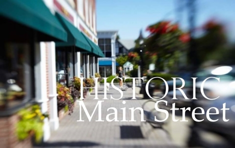 On Historic Main Street. next door to Squash's, Cheers and Neumann.