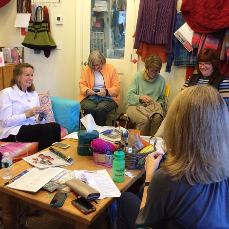 Knitting Classes from Beginner to Beyond