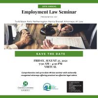 28th Annual Employment Law Seminar