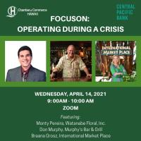 FocusOn: Operating during a crisis, sponsored by Central Pacific Bank
