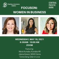 FocusOn: Women in Business, sponsored by Central Pacific Bank
