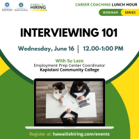Interviewing 101: Career Coaching Lunch Hour
