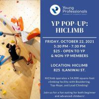 YP Pop Up: HiClimb