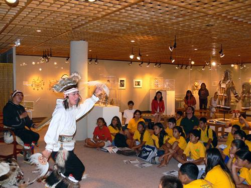 Exhibitions and performances from our Arts Program engage the entire community