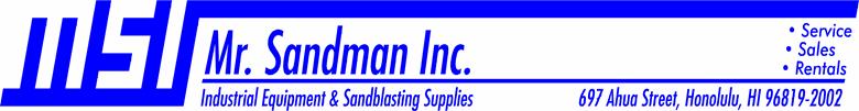 Mr. Sandman Inc.