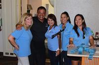 Lt Arakaki and WIMAH Golf Committee