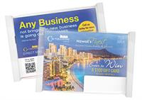 Our main product is an advertising card pack that we send out quarterly.