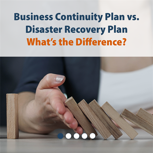 Business Continuity Plan vs. Disaster Recovery Plan What's the Difference?